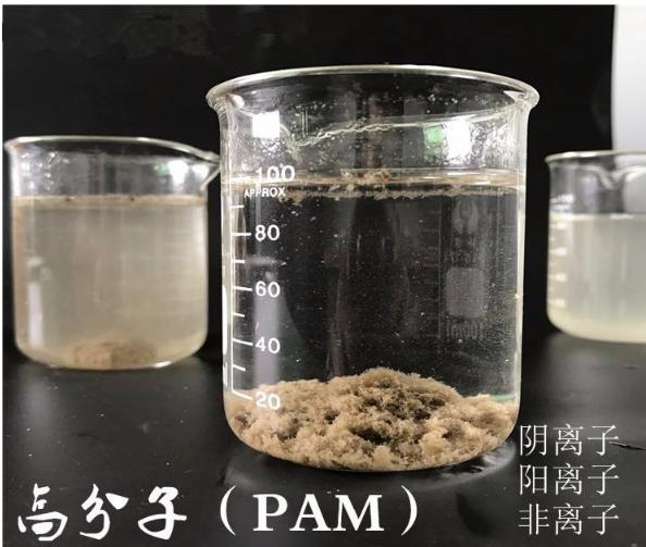 高分子PAM实验有机污水